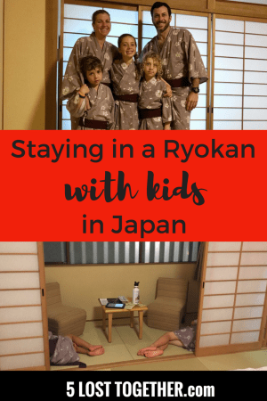 Staying at a Ryokan with Kids