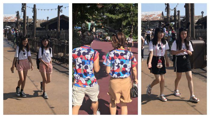 Disney Sea twins