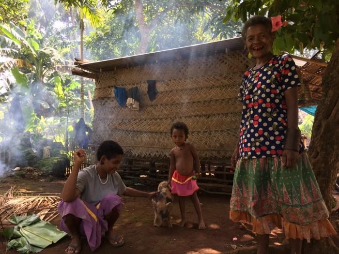 Papua New Guinea villages