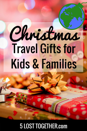 Christmas travel gifts for kids and families