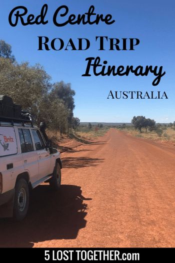 Red Centre Road Trip Guide