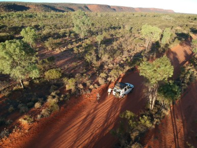 Red roads of the NT