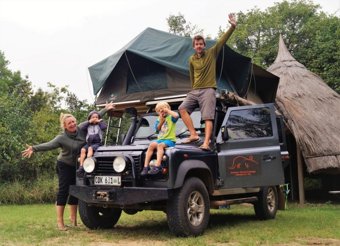 Overland Africa with kids