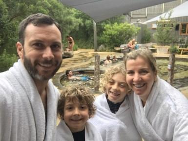 family friendly Peninsula Hot Springs