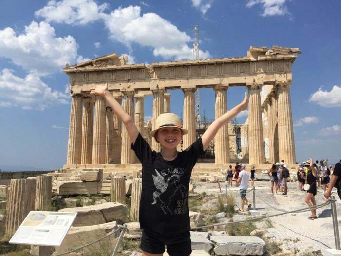 Percy Jackson fan Athens