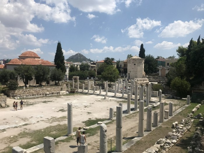 Ancient Agora with kids