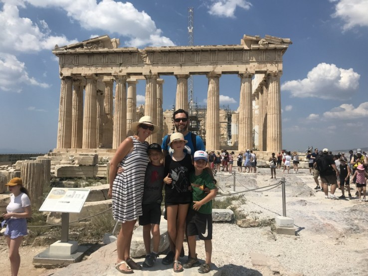 family holiday Athens