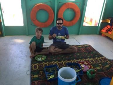 Flores Komodo with kids