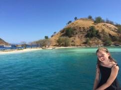 blue water Komodo