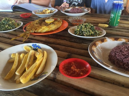food in Flores