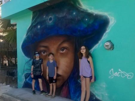 Street art Holbox