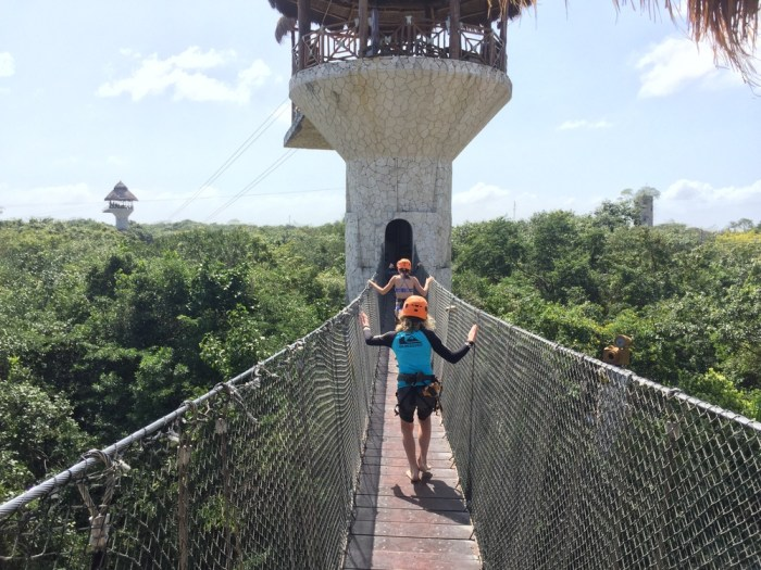 Xplor ziplines with kids