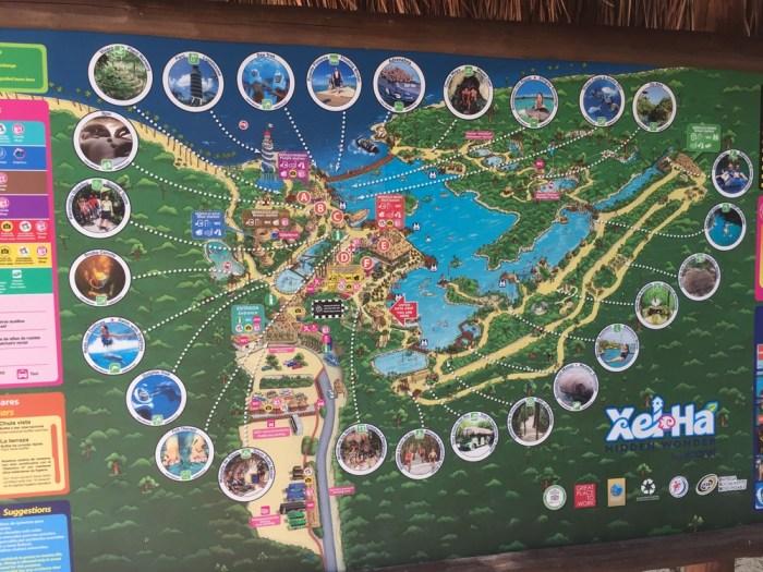 xel-ha map