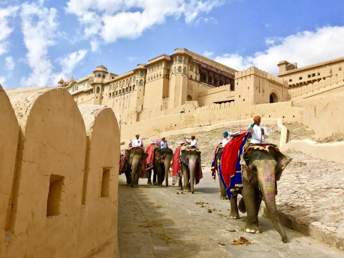 Amber Fort with kids
