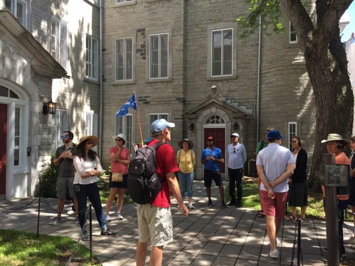 free walking tour Quebec City
