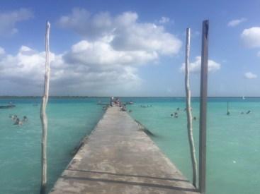 Municipal dock Bacalar
