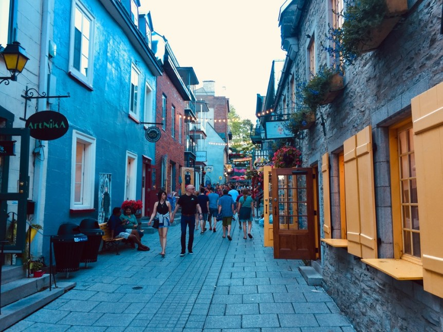 Old streets Quebec
