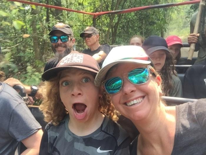 Nepal safari with kids