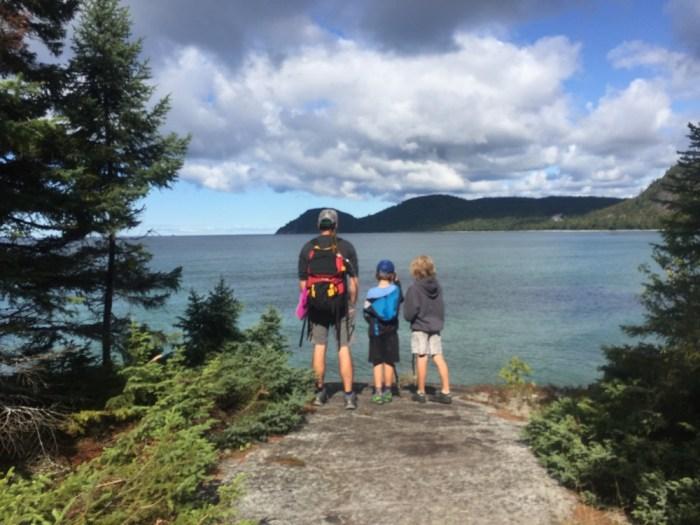 Coastal Trail Lake Superior