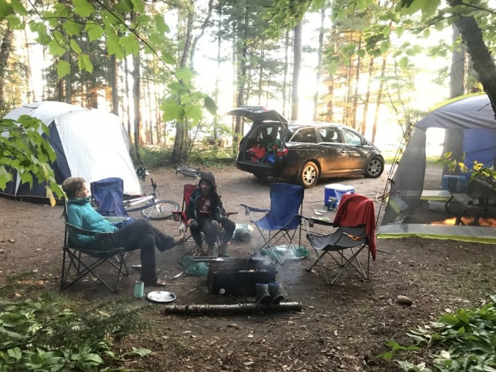 Lake Superior PP campsite