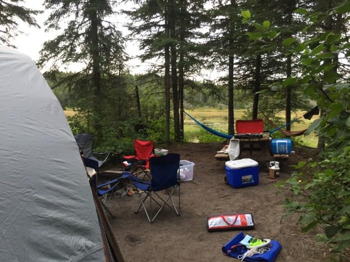 campsite Pukaskwa