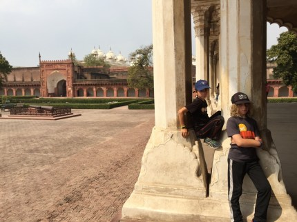 Agra with kids