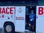 Expedición del Albacete en el viaje a Barcelona. LUIS MARTÍNEZ