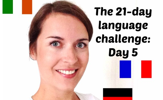 learn a language fast language challenge day 5