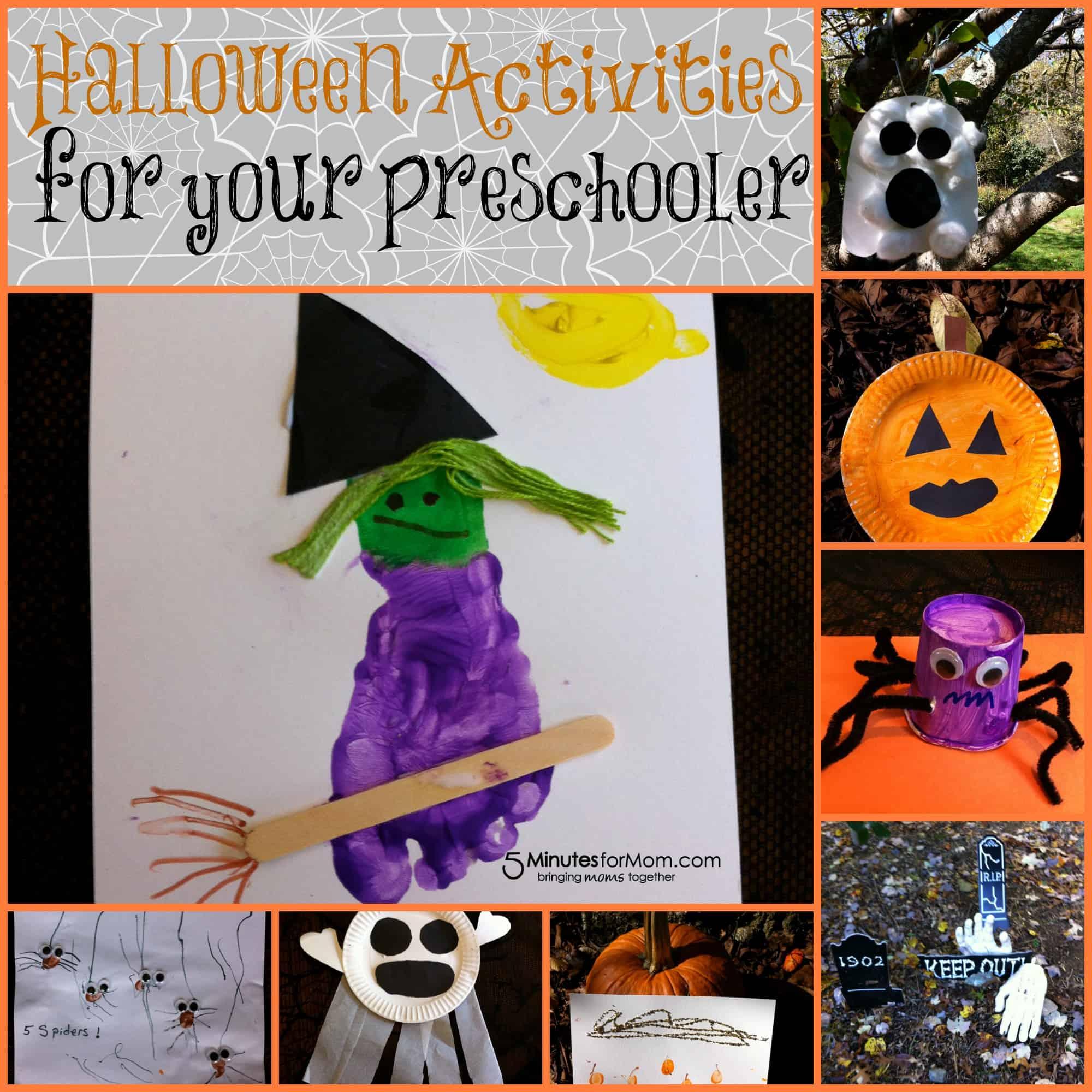 Halloween Activities For Your Preschooler And Toddler