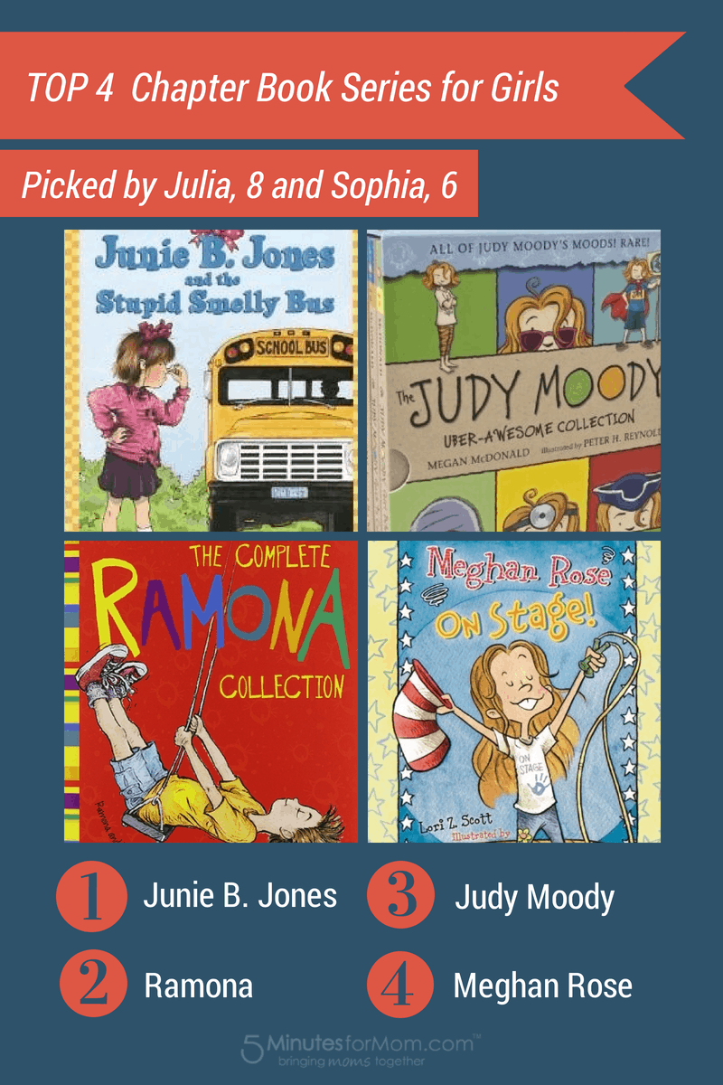 4 Top Childrens Book Series For Girls