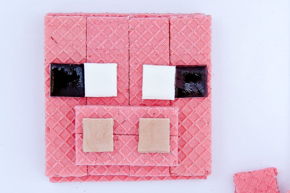 Minecraft Pig Treats Inspired By Voortman