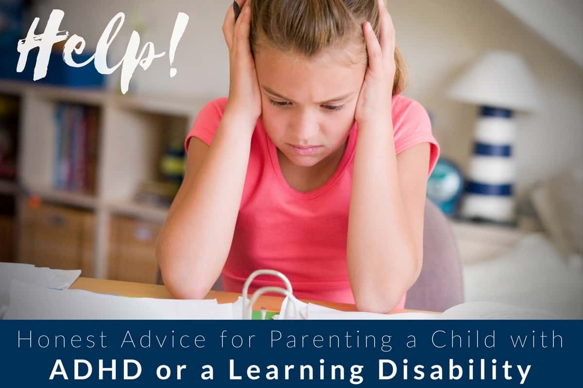 Honest Advice For Parenting A Child With Adhd Or A