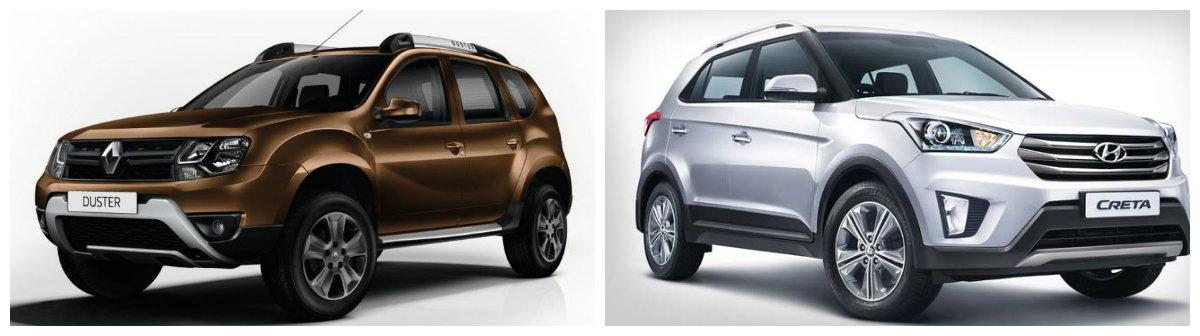 Renault Duster AMT vs Hyundai Creta AT