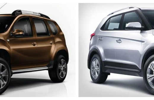 Renault Duster AMT vs Hyundai Creta AT