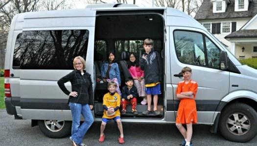 London Trip Minbus With Family