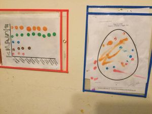 Activities completed using Do-A-Dot markers
