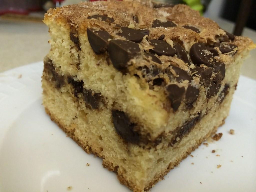 Cinnamon Chocolate Chips Cake