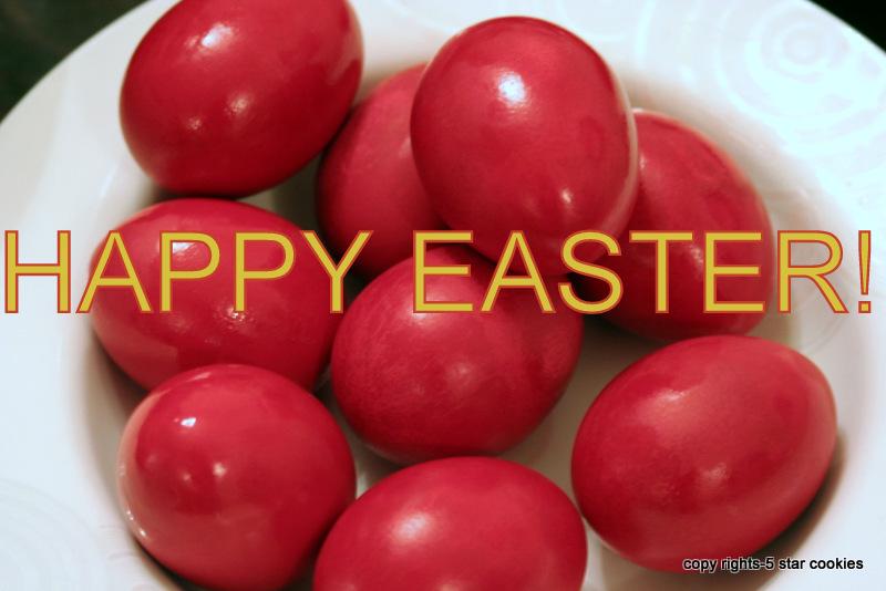 5 Star Cookies - Happy Easter