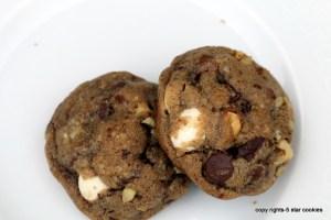 5 star cookies coffee cookies8
