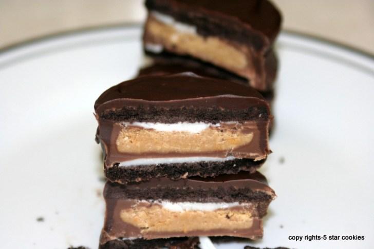 5 star cookies-Oreo Sandwich