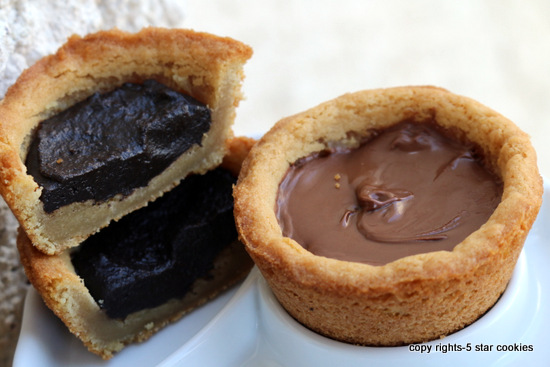 5starcookies Nutella Oreo Cookie Cups