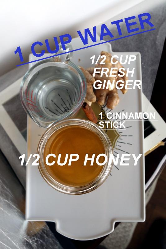 healthy ginger cinnamon syrup 5starcookies