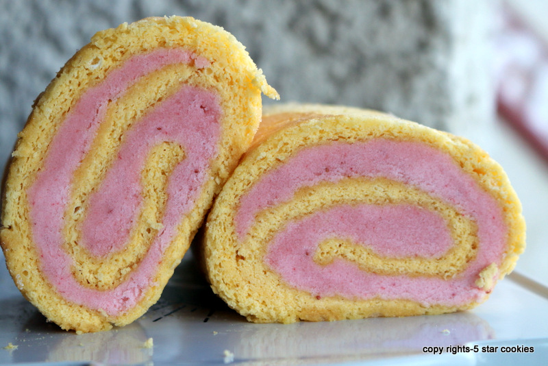 strawberry buttercream roulade from the best blog 5starcookies