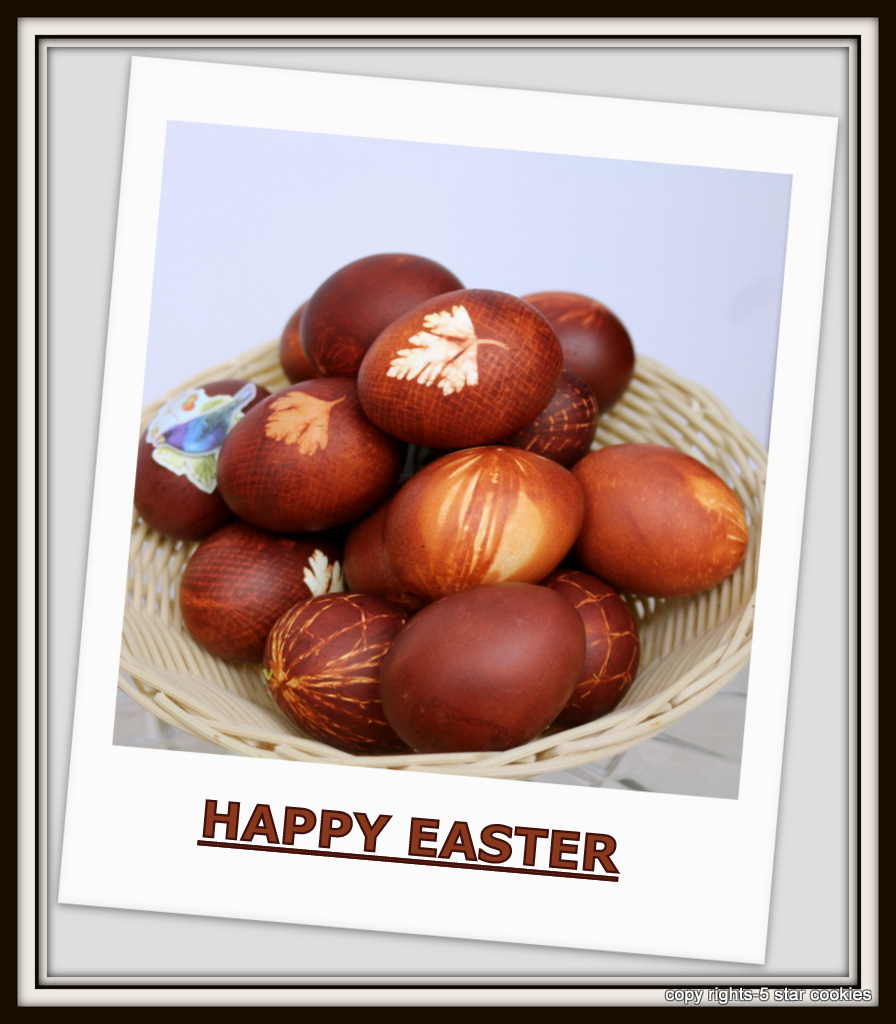 Happy Easter 2017 from the best food blog 5starcookies and your Cookie - Enjoy Easter Sunday
