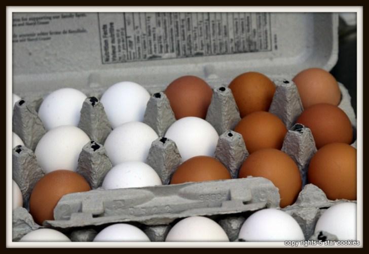 naturally dyed eggs using onion skin 5starcookies food blog Organic Eggs