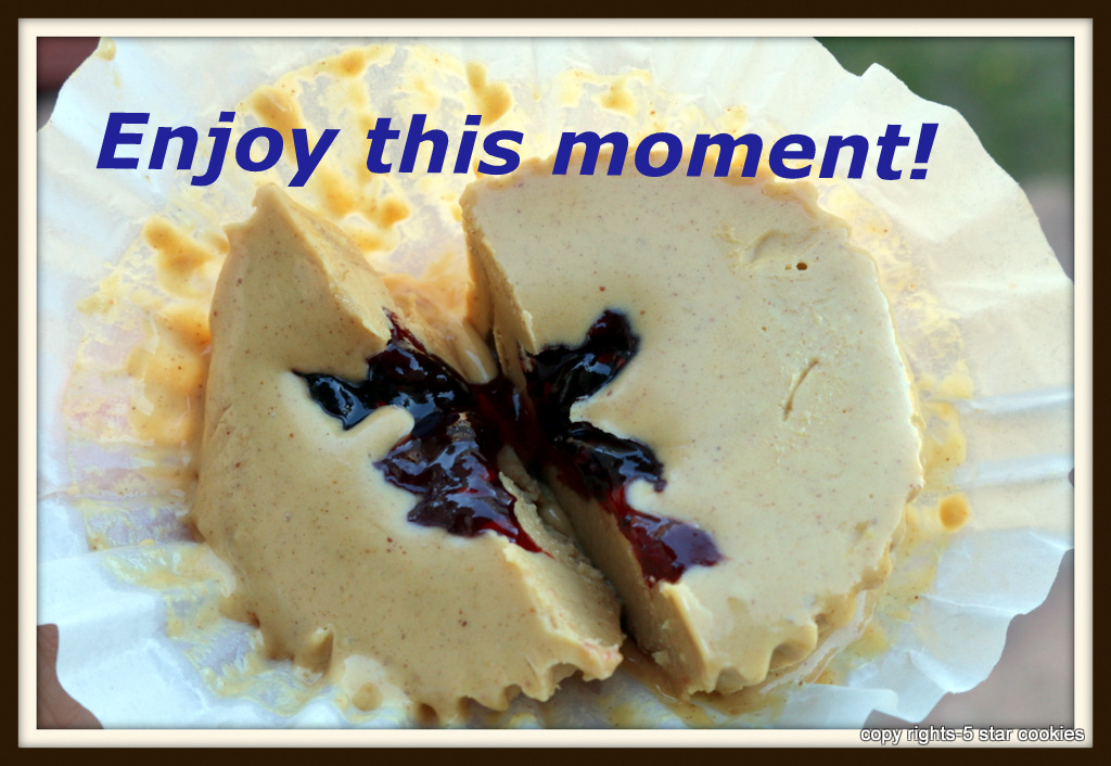 the best Peanut butter and jelly cups from 5starcookies Enjoy PBJ