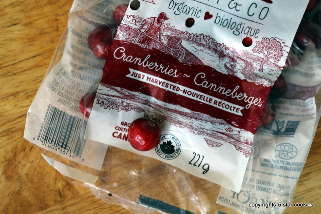 Cranberry Juice from 5starcookies-organic cranberries