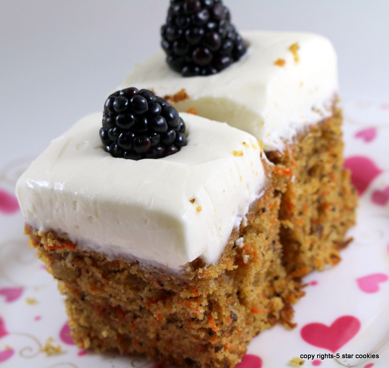 Carrot Cake from the best food blog 5starcookies -Enjoy your cake