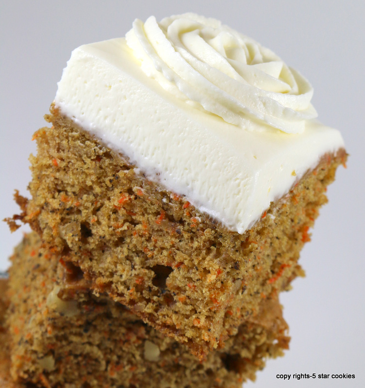 Carrot Cake from the best food blog 5starcookies