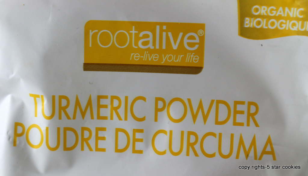 Turmeric espresso from the best food blog 5starcookies-rootalive organic kind